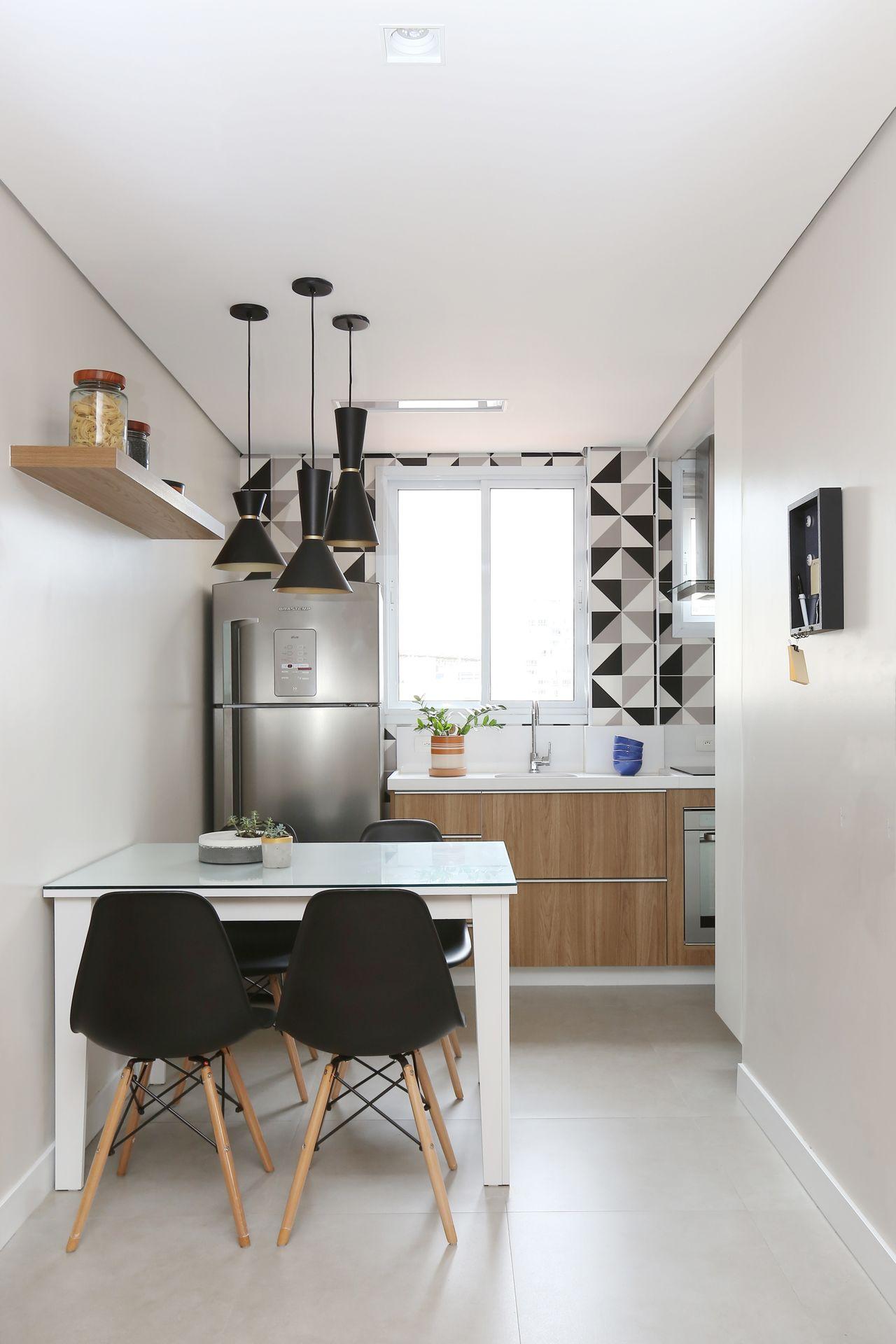 Cozinha Branca E Preta De Arquiteto Em Casa 169975 No Viva Decora