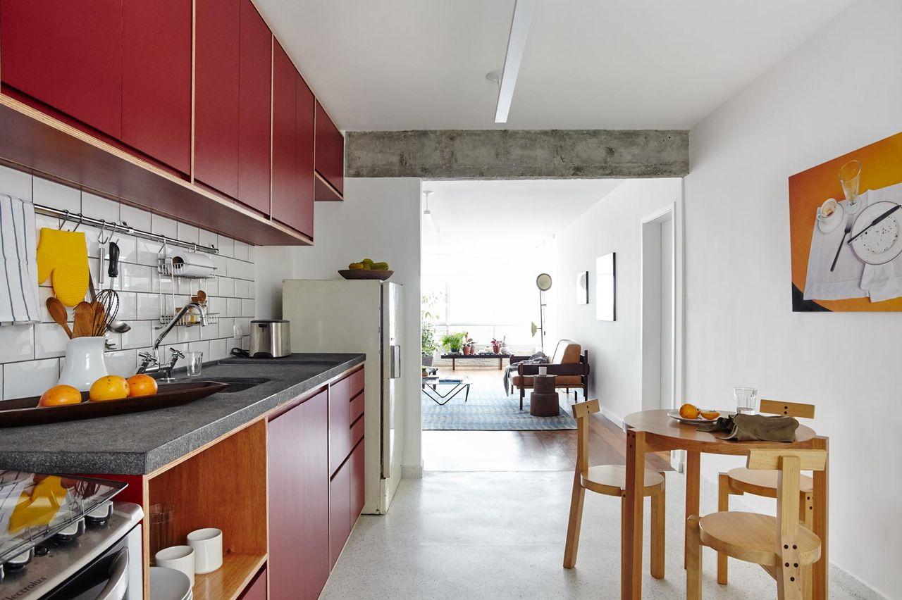Cozinha Clean Com Copa Integrada Sala De In Arquitetura 143179