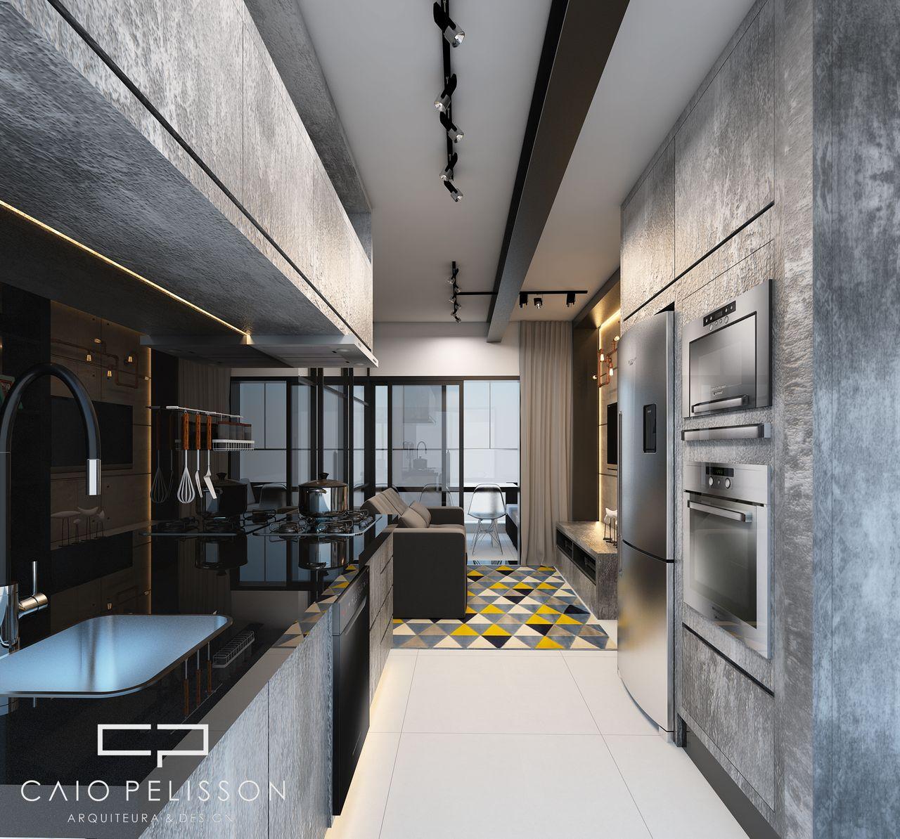 Cozinha Estilo Industrial De Arquiteto Caio Pelisson 154385 No