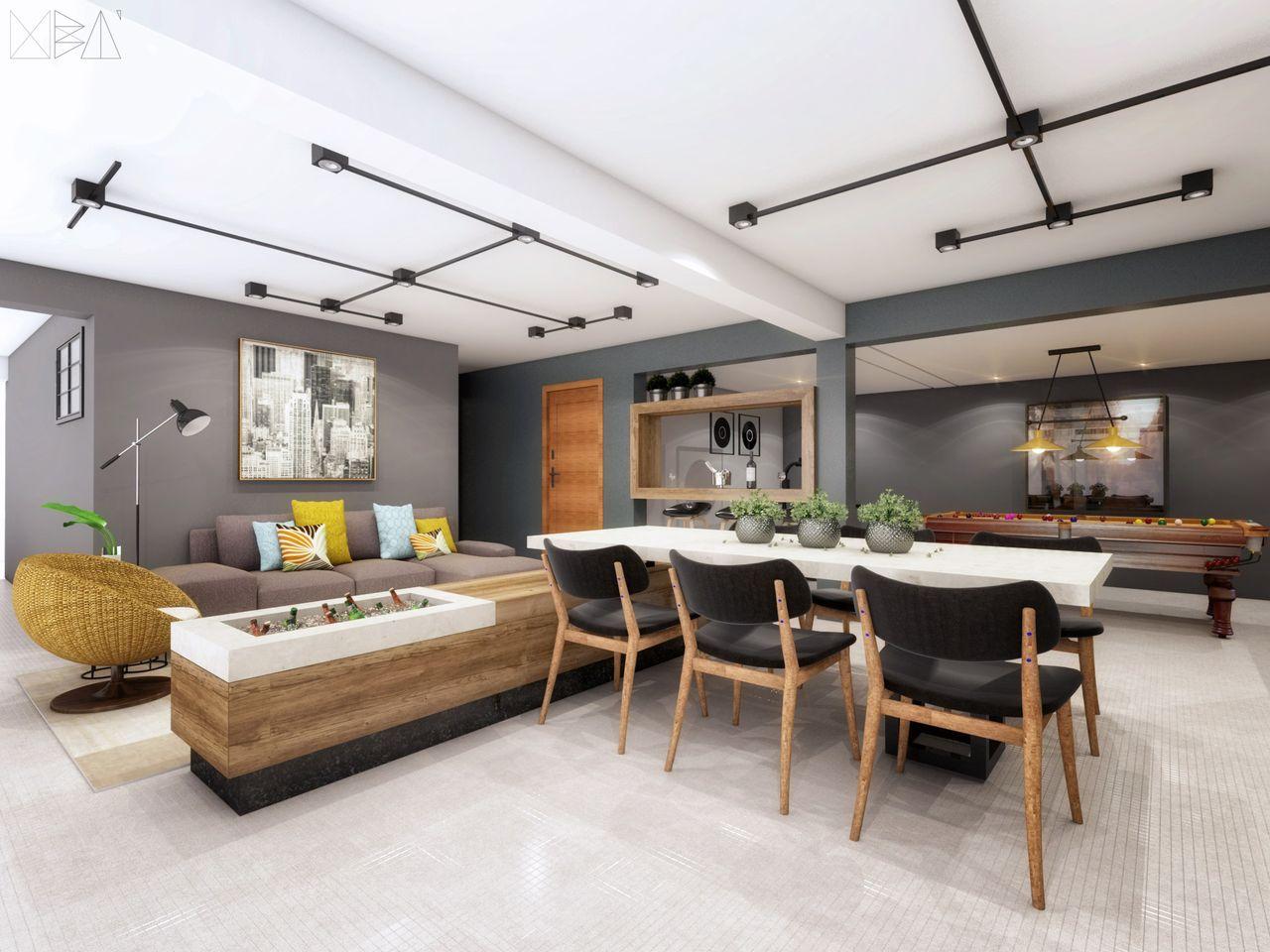 Area De Lazer Gourmet Paginao Com Eliane Docol E Colormix Reforma