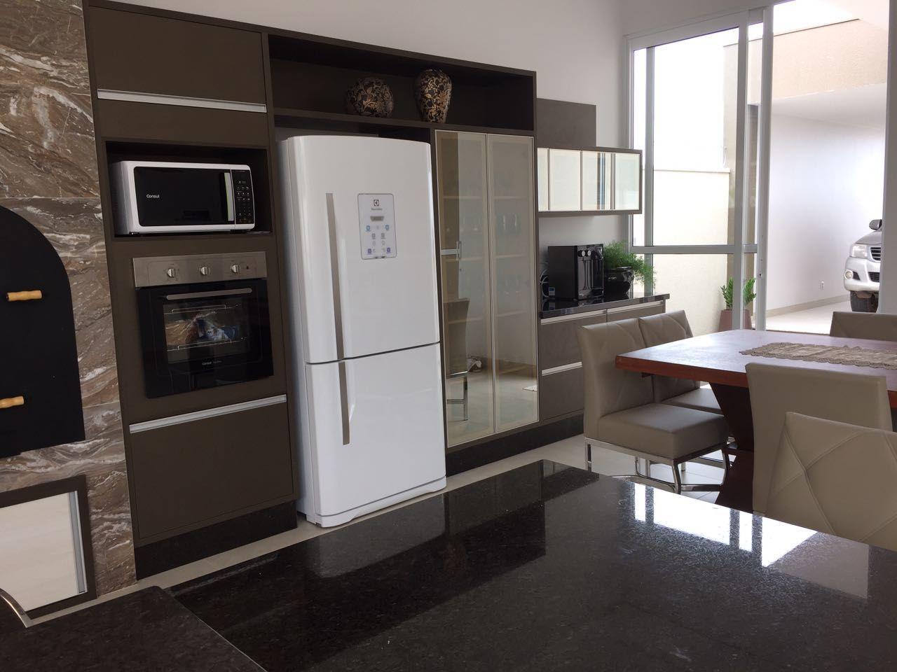 Torre Para Cozinha Cozinha Planejadas Preto E Branco Com Torre