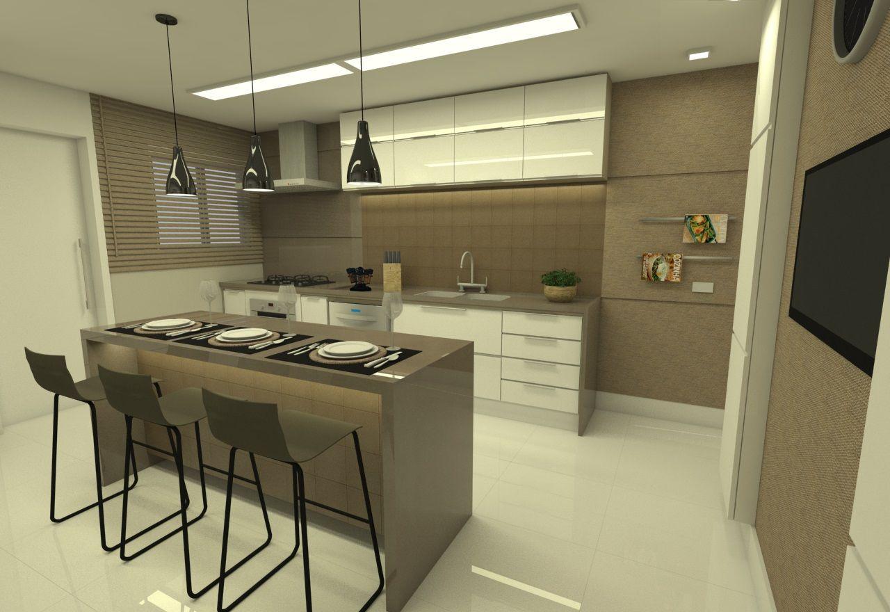 Cozinha Balc O De La Interiores 158809 No Viva Decora