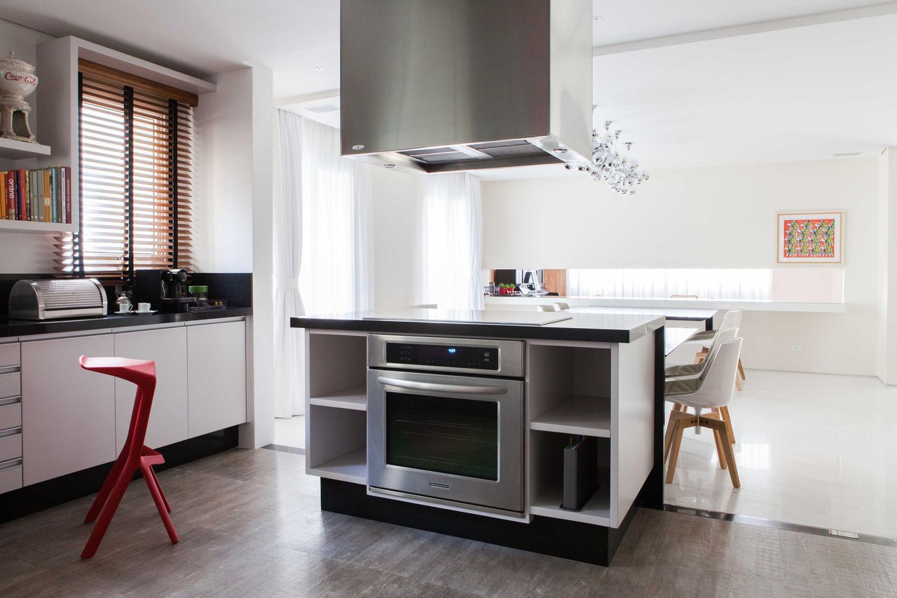 Cozinha Com Coifa De Ilha De Oleg Rio De S Gilberto Cioni