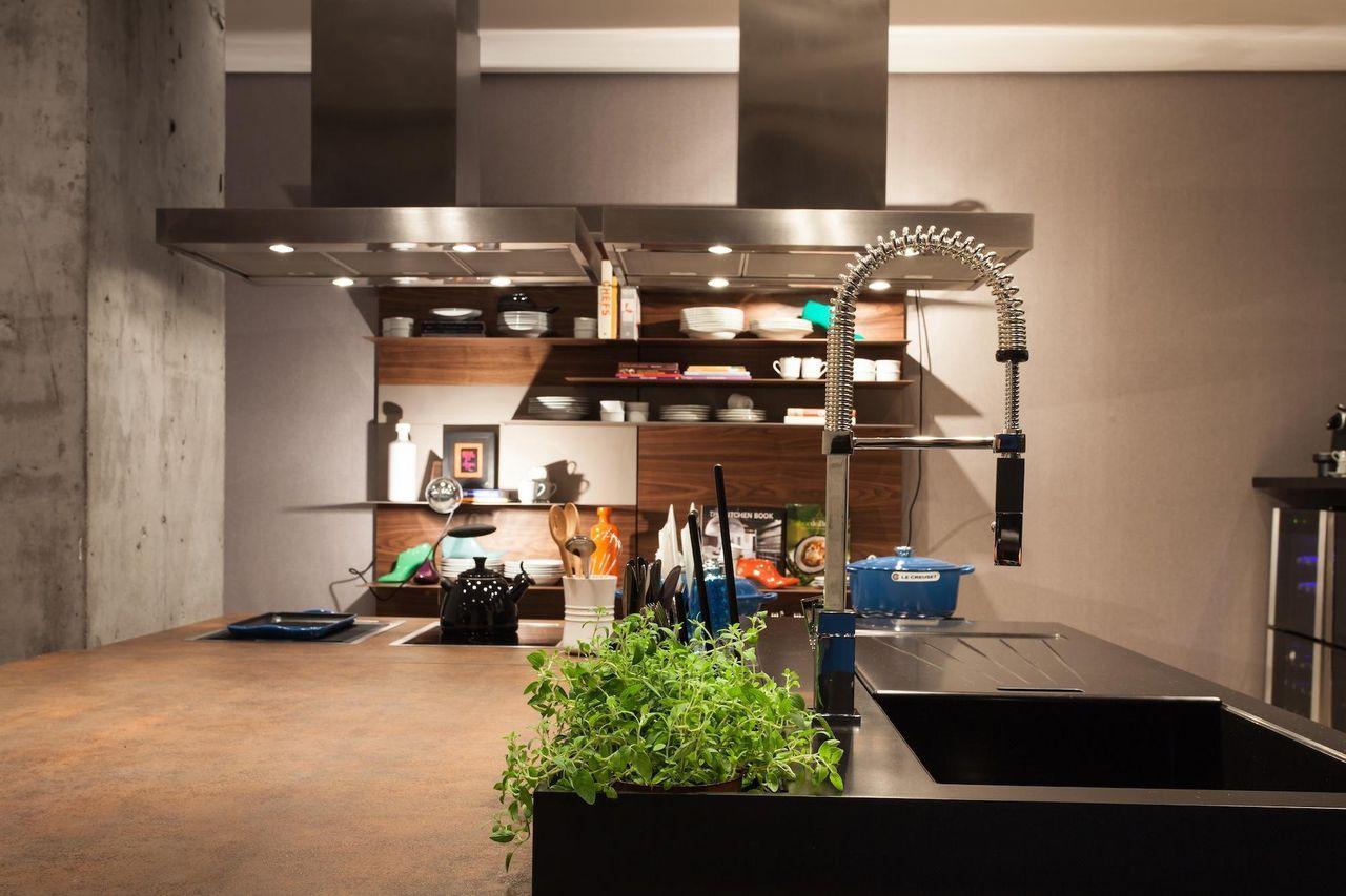 Cozinha Com Coifa E Torneira De Alum Nio De Juliana Pippi 70980 No