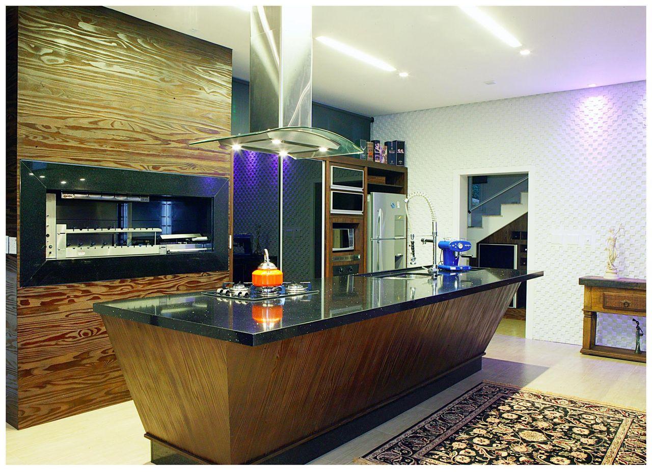 Cozinha Com Ilha De Projeto 3 Design 52297 No Viva Decora