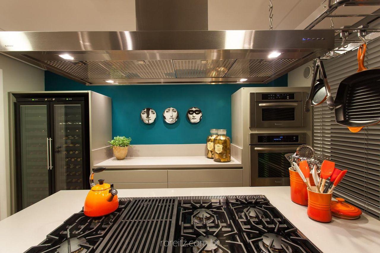 Cozinha Com Utens Lios Laranja De Marchettibonetti 104983 No Viva