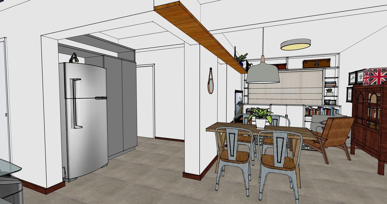 Cozinha Conceito Aberto De Paola Indio 164393 No Viva Decora -> Fotos De Cozinha Conceito Aberto