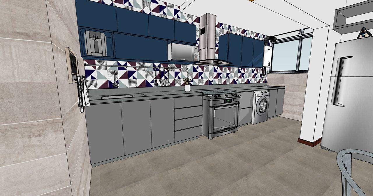 Cozinha Conceito Aberto De Paola Indio 164396 No Viva Decora -> Fotos De Cozinha Conceito Aberto