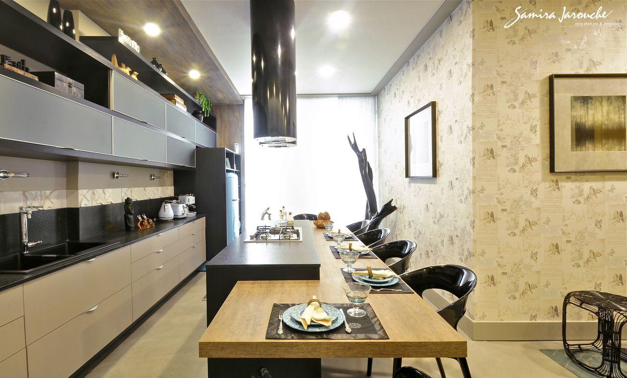 Cozinha Gourmet Com Coifa Redonda De Samira Jarouche 131930 No