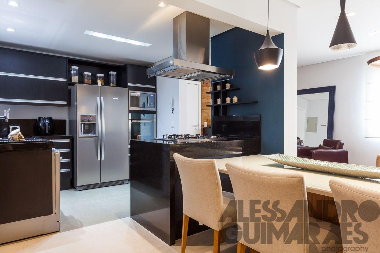 Cozinha Integrada Com Sala De Jantar De Carolina Vilela 127046 No