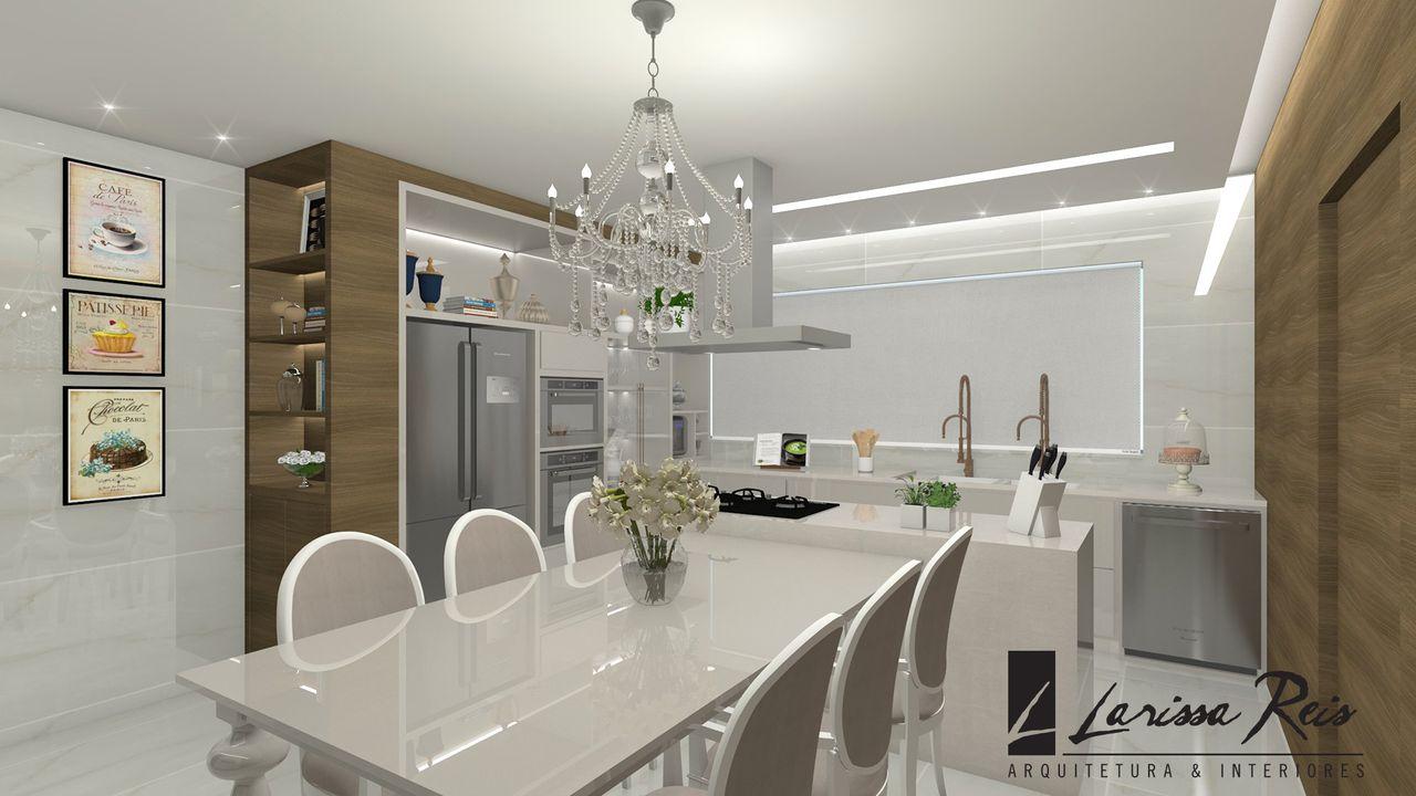 Cozinha Moderna Com Toques Cl Ssicos De Larissa Reis 142027 No