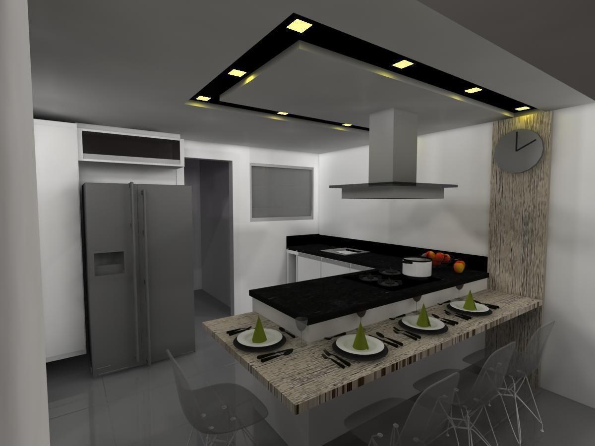 Cozinha Pequena De Christiane Kizzy Fritzsons 59532 No Viva Decora