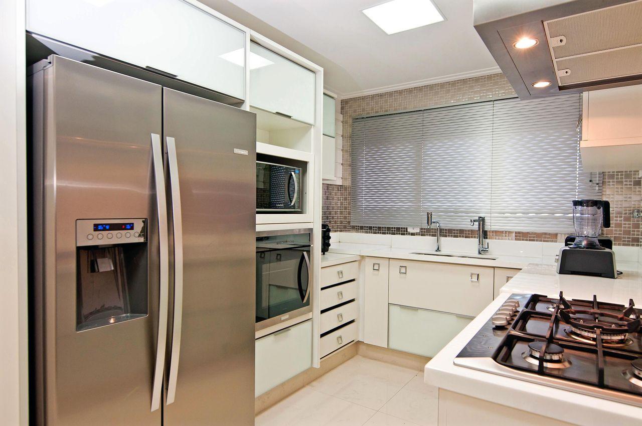 Cozinha Planejada Branca De Emerson Vaz 42371 No Viva Decora
