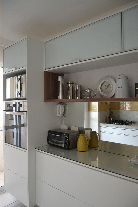 Cozinha Planejada Com Arm Rios Branco De Tria Arquitetura 85247 No
