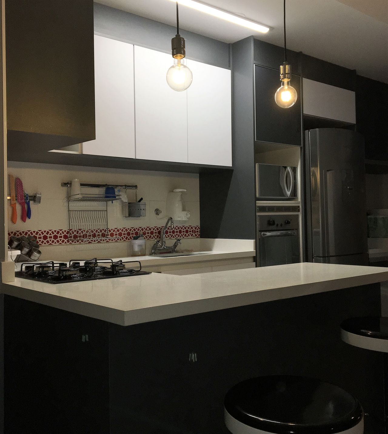 Cozinha Branca E Cinza De Scopo Design Moveis Planejados 168088 No