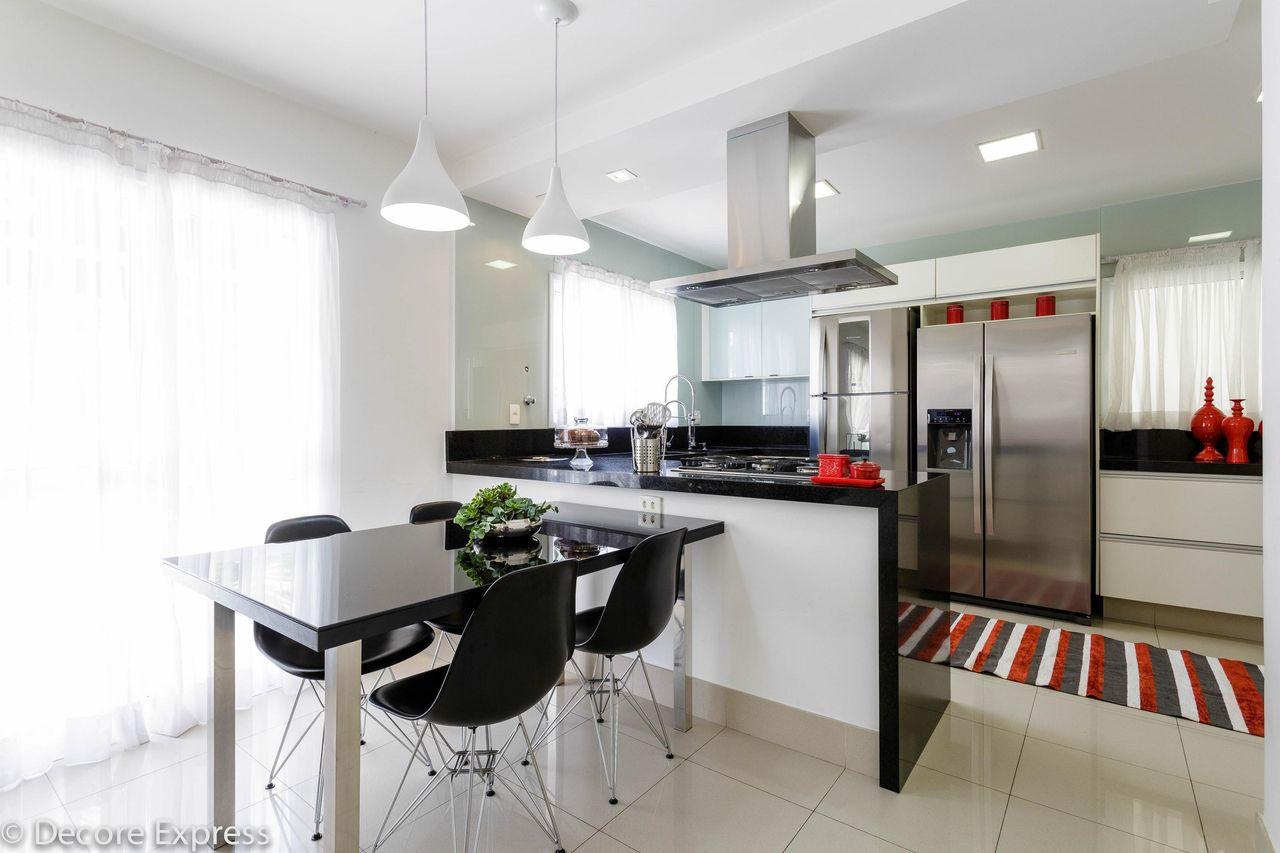 Cozinha Gourmet Integrada Com A Copa De Camila Badar 118001 No