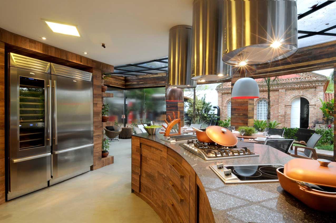 Cozinha Com Ilha De Guardini Stancati Arquitetura Designer