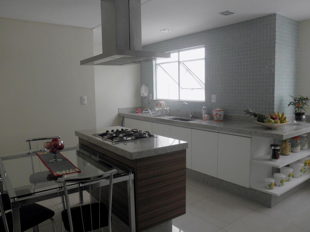 Cozinha Planejada Pequena Com Coifa Cozinha Pequena Com Chapa De
