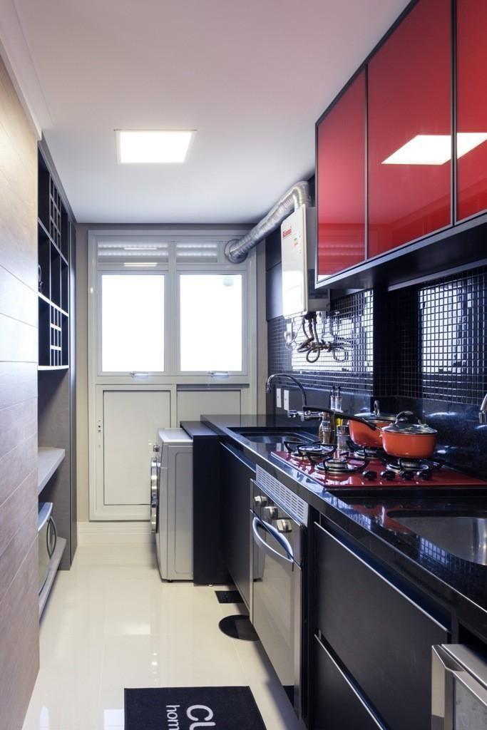 Aparador De Grama Eletrico Leroy Merlin ~ Cozinha Planejada Espelhada Armrios Planejados Decorao Com Espelho Bronze Cobre Cozi