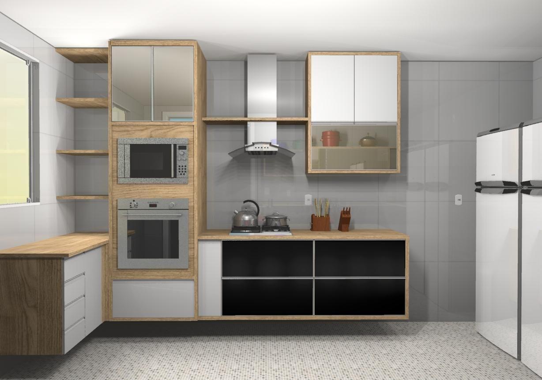 Cozinha Planejada Com Coifa De Alum 237 Nio De Jorge Forti 60339 No Viva Decora
