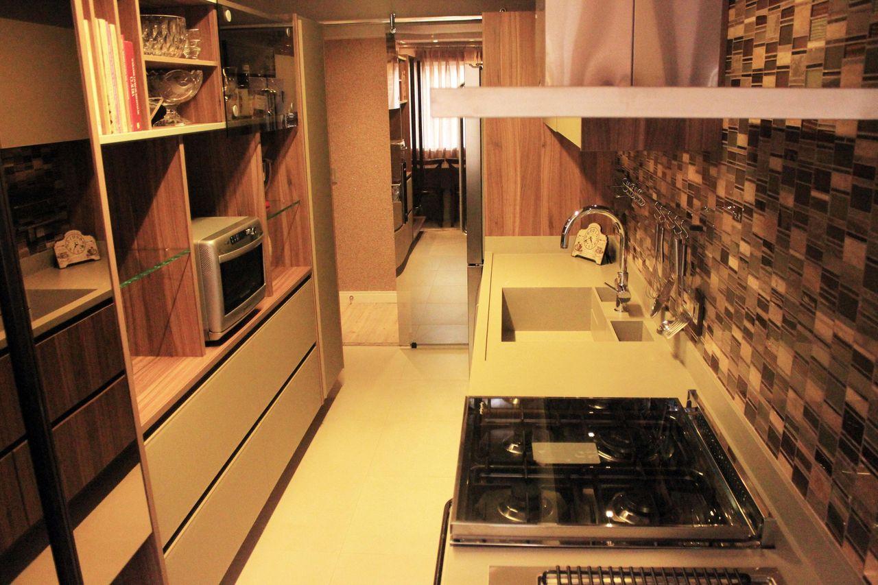 Cozinha Planejada Com Coifa Quadrada De Patr Cia Medeiros 106649  -> Sala Quadrada Planejada