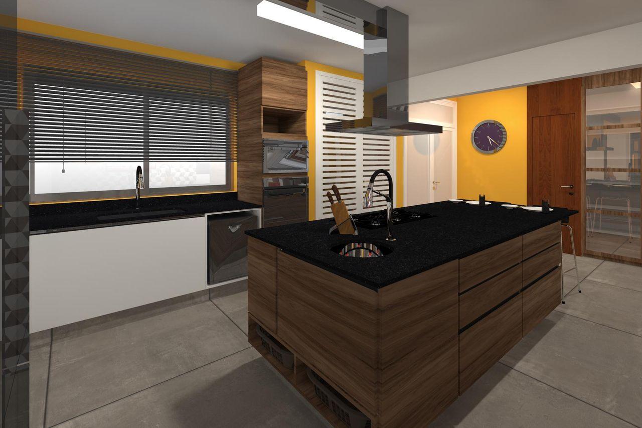 Cozinha Planejada Com Ilha De Juliana Lahoz 79813 No Viva Decora