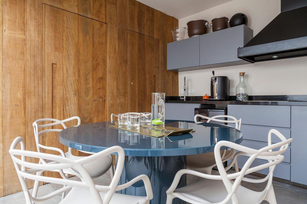 Mesa Cozinha Planejada Cozinha Planejada Com Ilha E Mesa Cozinha