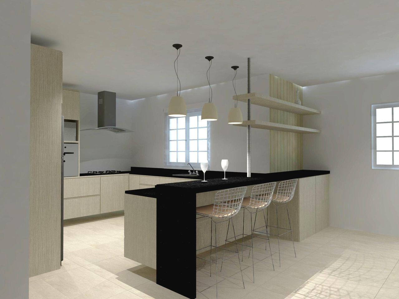 Cozinha Americana De Elo Arquitetura E Interiores 42800 No Viva Decora