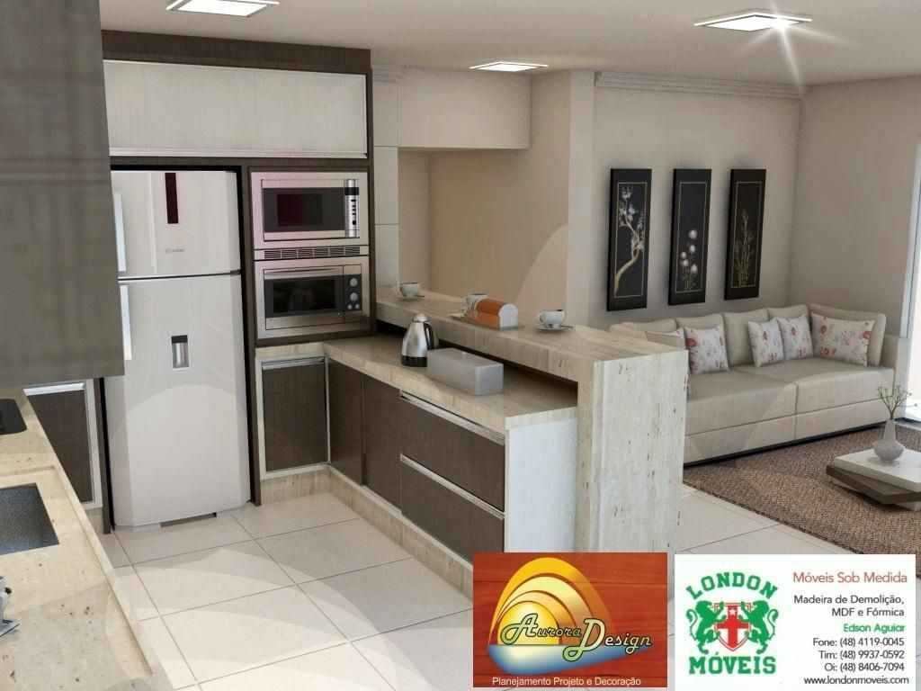 Cozinha Americana De Rafael Pedreira 59042 No Viva Decora