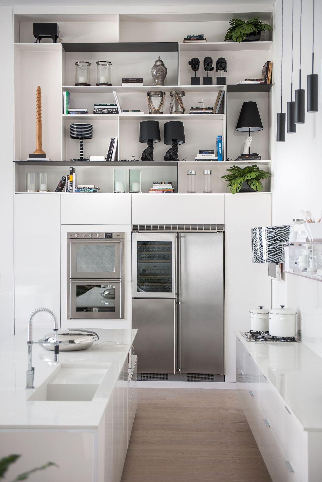 Nichos Na Cozinha Foto Reproduo Doob Arquitetura Na Cozinha Os