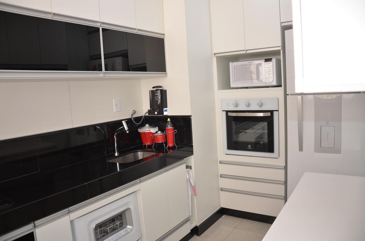 Cozinha Preta E Branca Planejada Dez Penha Cozinha Lindas Modernas