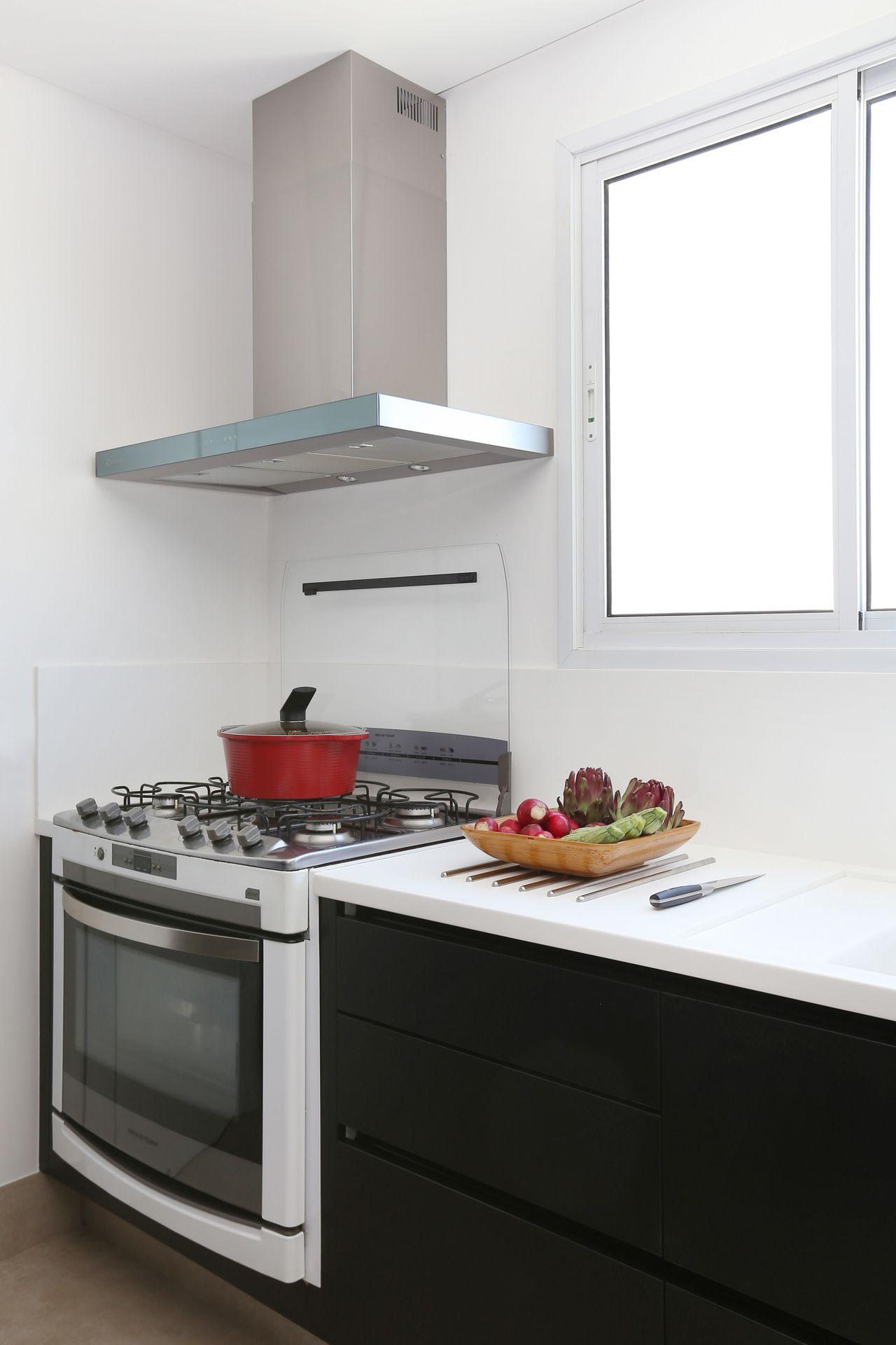 Cozinha Branca E Preta De Start Arquitetura 166831 No Viva Decora