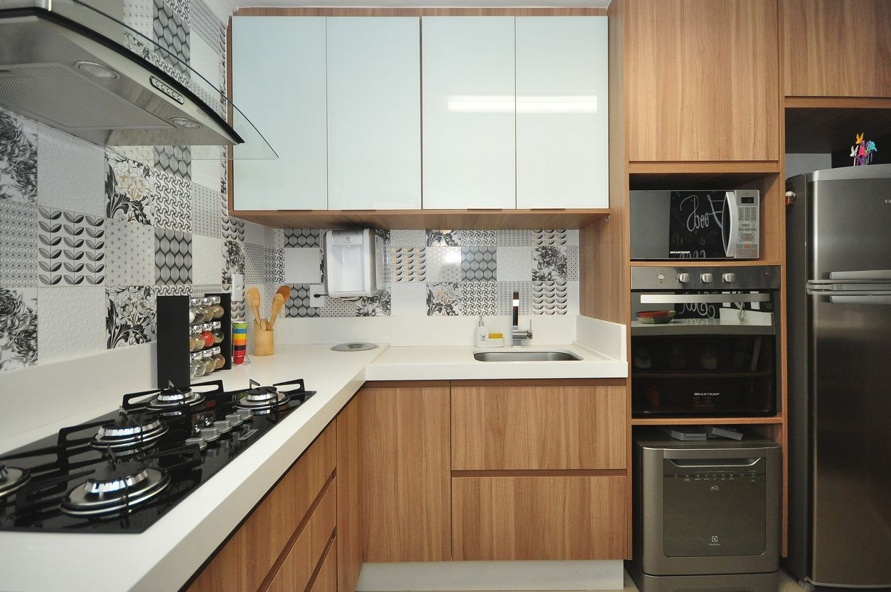 Cozinha Planejada Simples Com Bancada Oppenau Info
