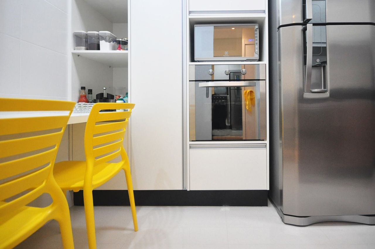 Cozinhas Planejadas Amarelas Decorao Cozinha Planejada Cozinha Com