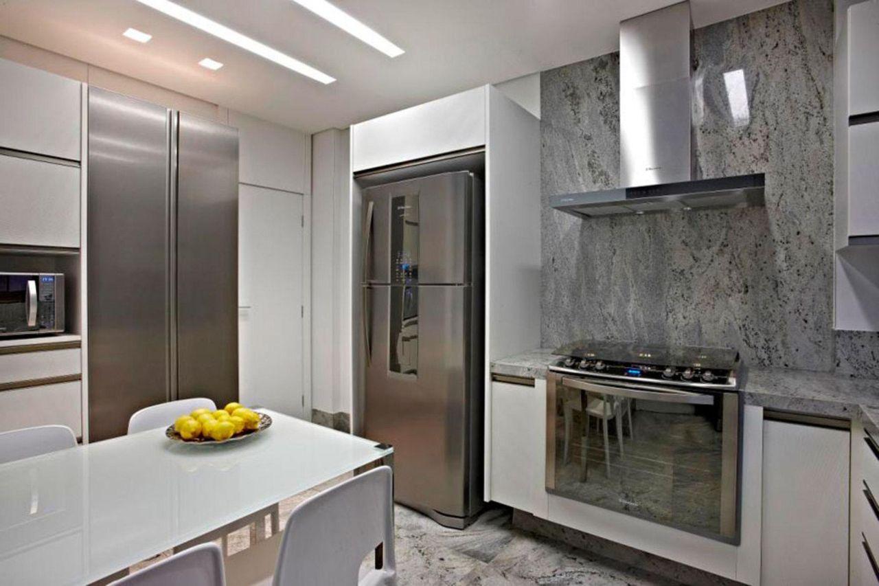 Cozinha Com Eletrodom Sticos Embutidos De Graziella Nicolai 24868