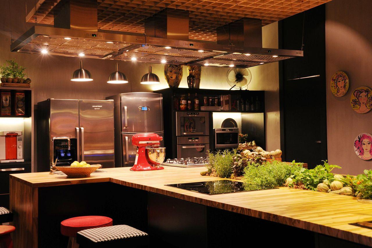 Cozinha Com Ilha De Cristina Bozian 63779 No Viva Decora