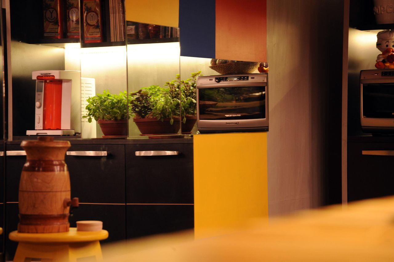 Cozinha Com Paredes Coloridas De Cristina Bozian 63776 No Viva Decora