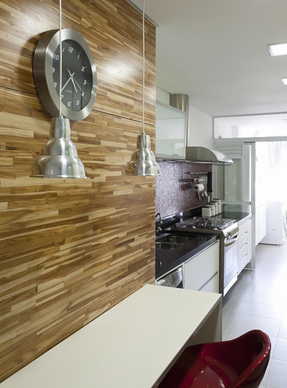 Cozinha Com Pastilhas De Vidro De Paula Bittar 25226 No Viva Decora