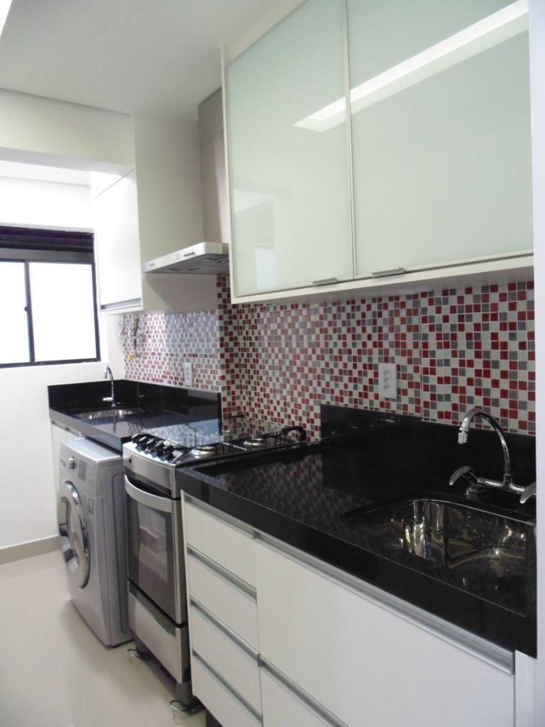 Cozinha Com Pastilhas Na Pia De Condecorar Arquitetura E  ~ Cozinha Decorada Com Pastilhas