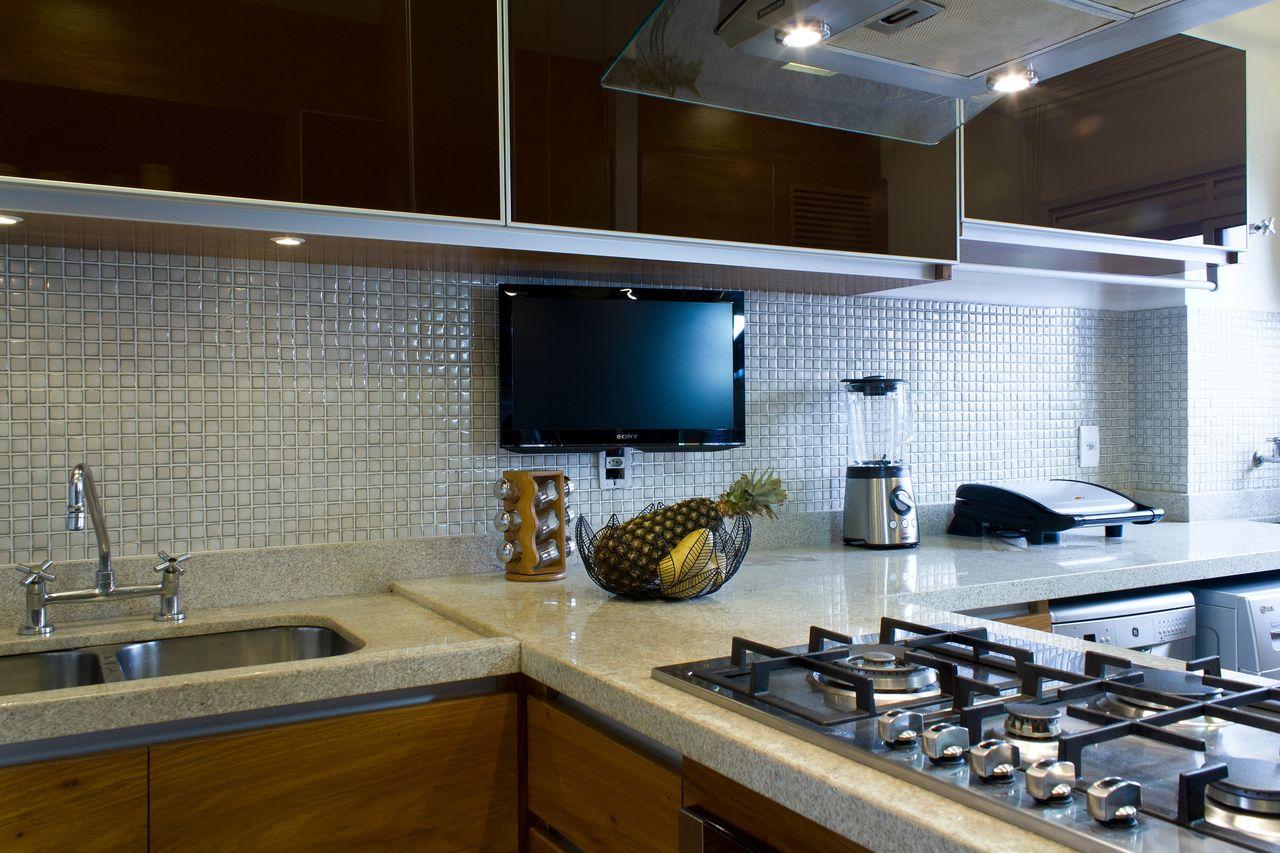 Cozinha Planejada Com Pastilha Simple Fotos De Decorao Design De