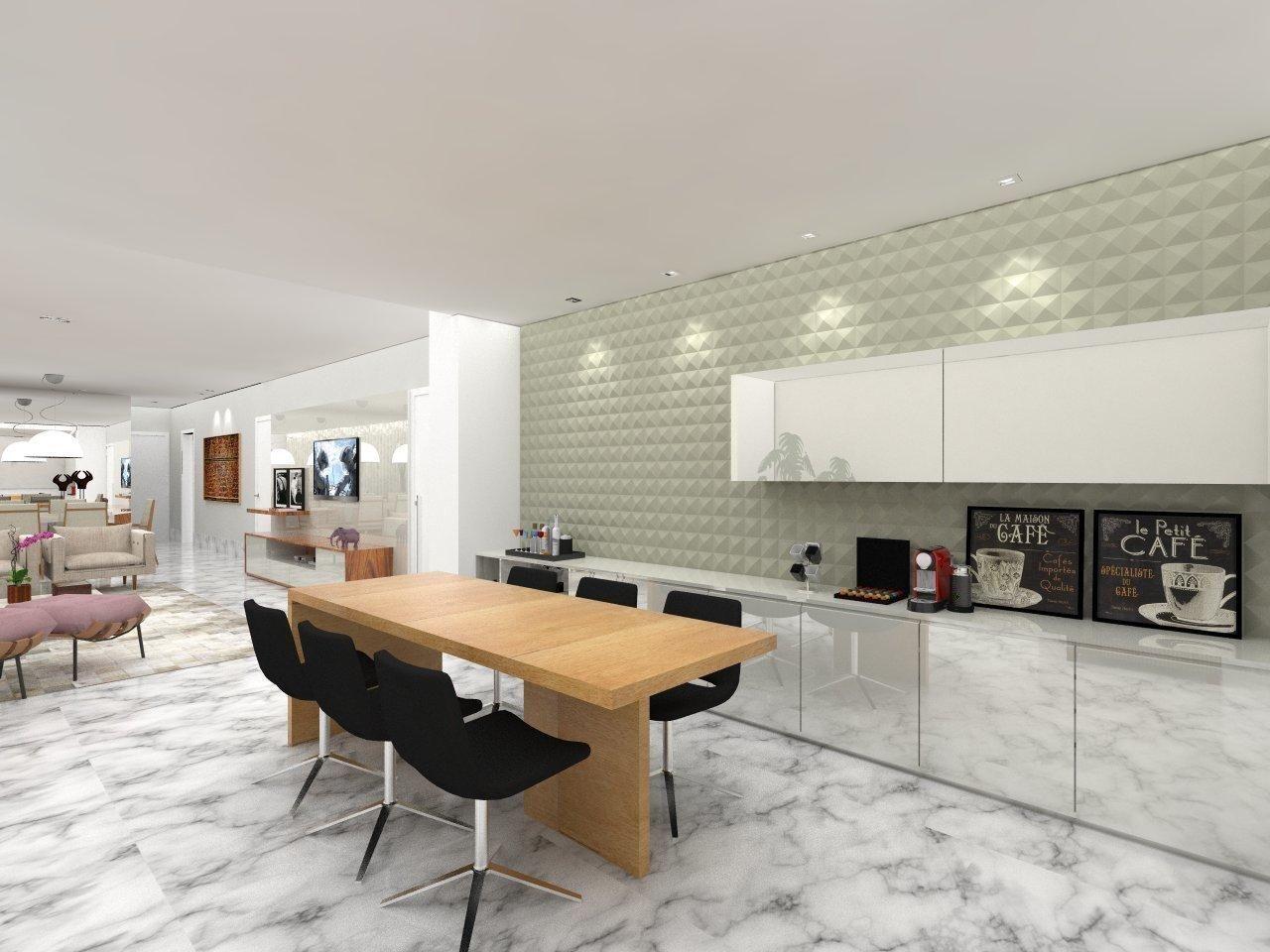 Cozinha Com Revestimento 3d De Amis Arquitetura Design 103513 No