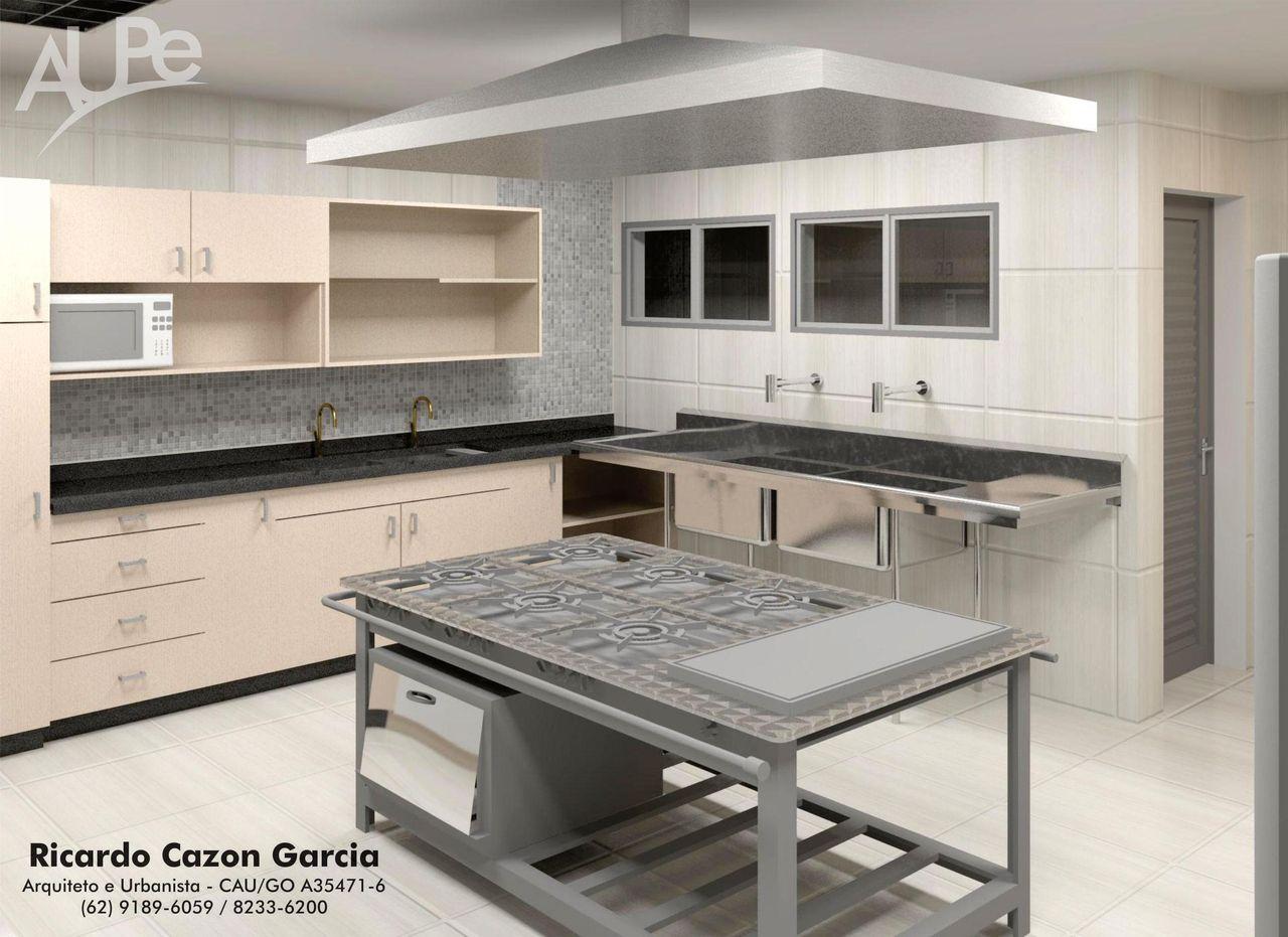 Decorao Cozinha Industrial Economizar Muito Bom Cozinha