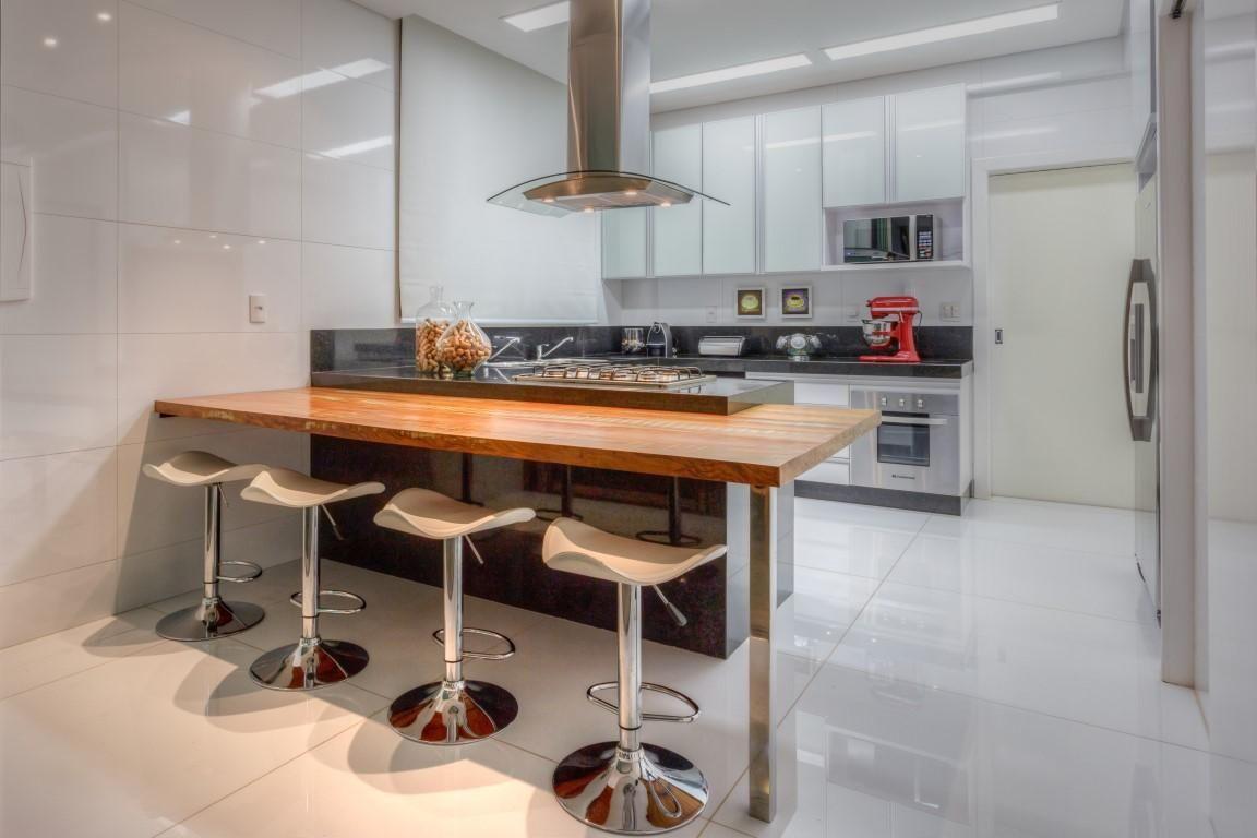 Cozinha Integrada Com Rea De Lazer De Janaina Naves Aleggra