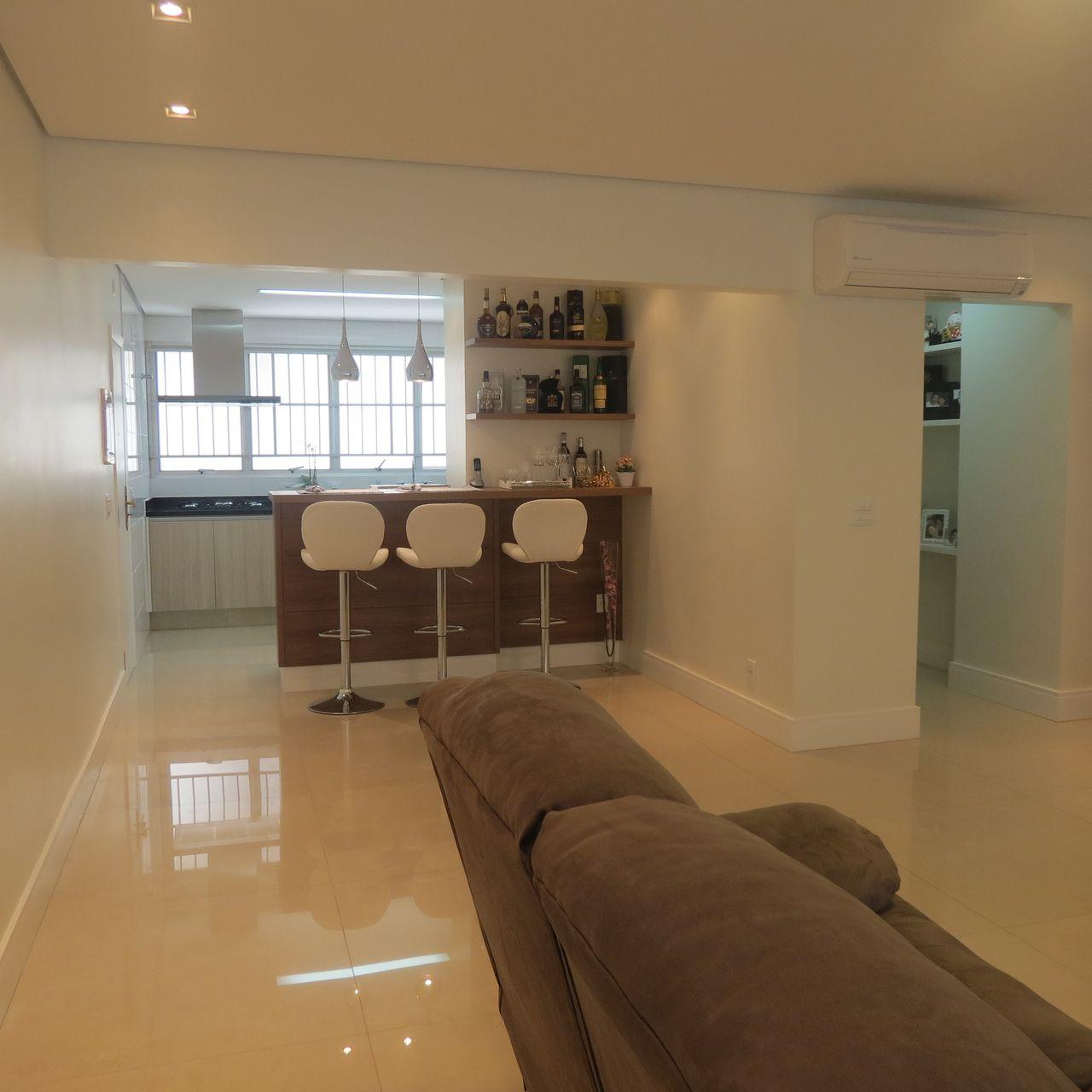 Cozinha Integrada Com Sala E Bar De Danielle David 137175 No Viva  -> Sala E Cozinha Integrada Como Decorar