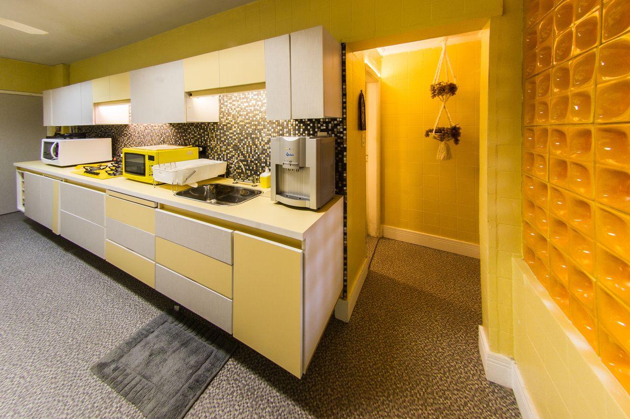 Cozinha Com Painel De Cobog S Amarelo De Malu Junqueira 133775 No