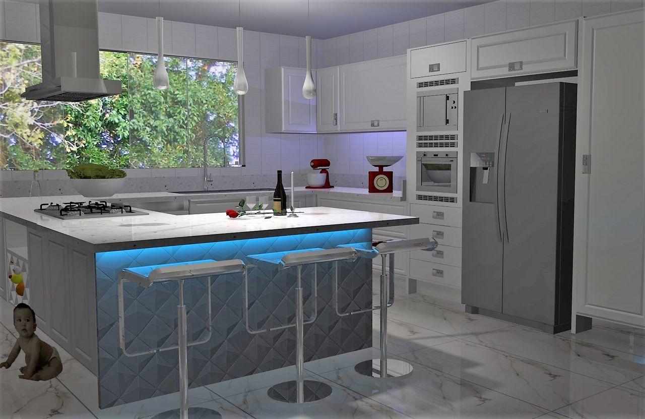 Cozinha Moderna E Cl Ssica De Beatriz Carvalho 166672 No Viva Decora