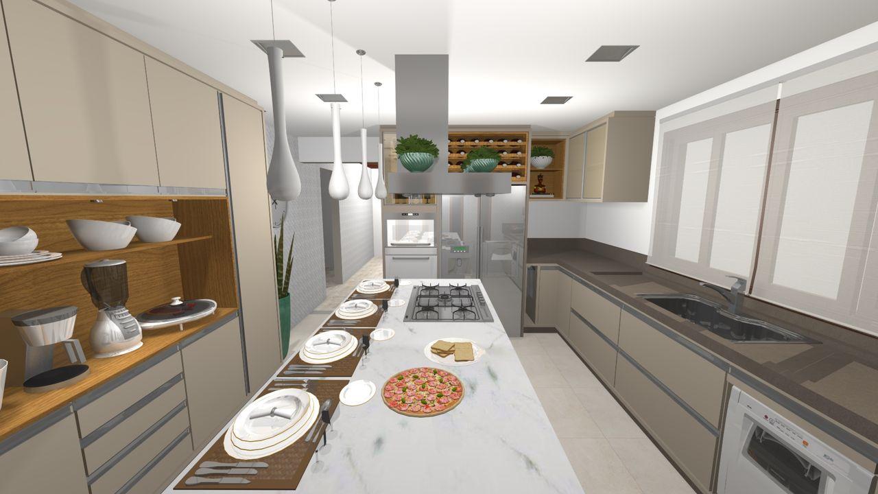 Cozinha Moderna De Juliana Buss Kuehl 152539 No Viva Decora