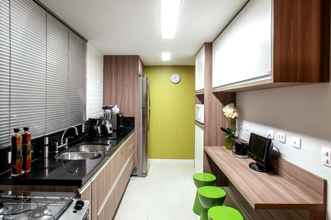 Cozinha Planejada Granito Preto Free Apartamento M Em Camboriu