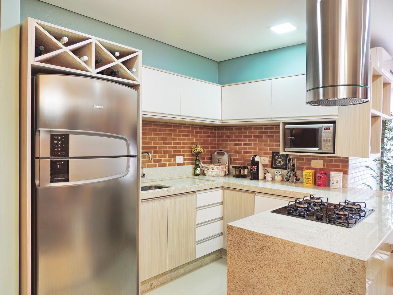 Cozinha Pequena De Caroline Yasmin Goncalves 58585 No Viva Decora