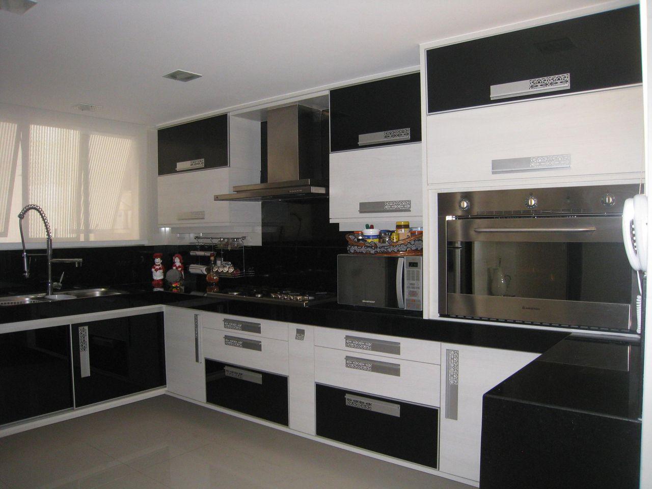 Cozinha Preta E Branco De Lucienne Barreto 51199 No Viva Decora